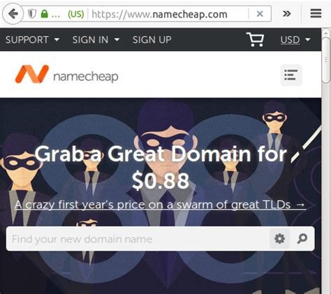 Domain Redirect Namecheap
