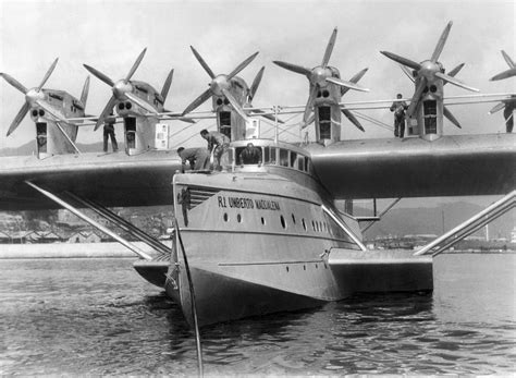 flying boat seaplane this massive luxurious flying boat could barely get off