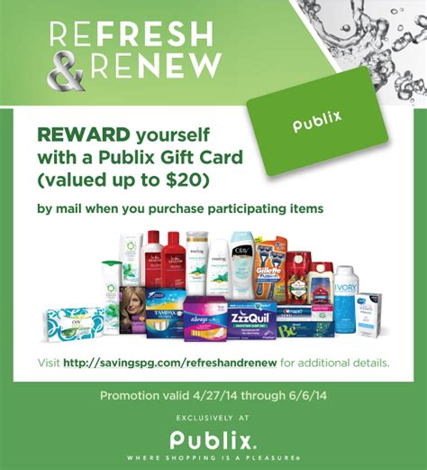 Amazon Gift Card Renewal - 20 publix gift card offer refresh renew who said nothing in life is free