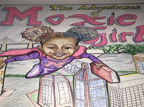 maine has moxie books 7 year comic book creator gives black a