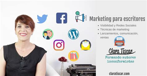 marketing para escritores recursos clara tiscar