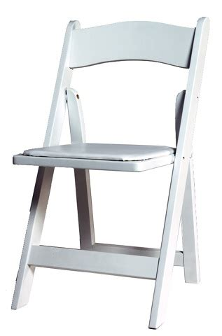 White Wood Folding Chairs by Chair Table Rentals Bend Oregon