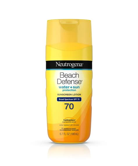 defense 174 sunscreen lotion spf 70 neutrogena 174