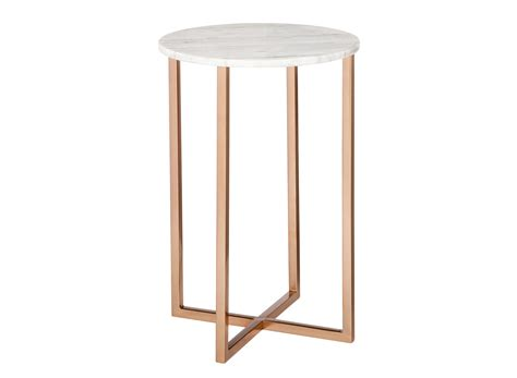 rose gold side table rose gold and marble accent table 80 hide your credit