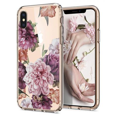 iphone xs  case cecile rose floral spigen philippines