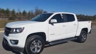sold 2015 chevrolet colorado crew cab z71 4x4 summit white