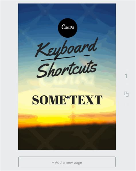 canva layers 10 canva keyboard shortcuts to create images faster