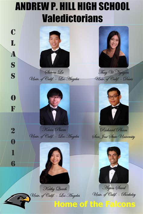 Esuhsd Calendar East Side Union High School District 2016 Valedictorians