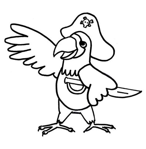 parrot coloring pages google search interesting