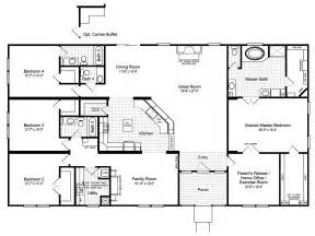 Mobile Home Designs Floor Plans by Palm Harbor S The Hacienda Iii Vrwd76d3 Or 41764a Is A