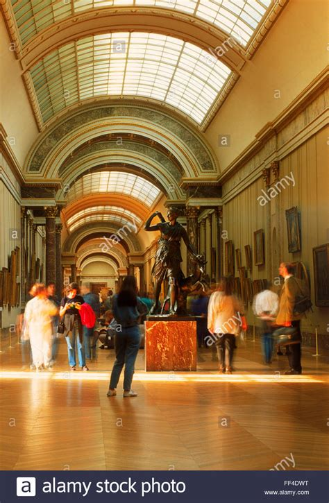 Louvre Museum Sections by At Louvre Museum In Denon Section With And