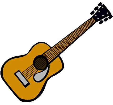 Collection of Guitarra Animada Para Dibujar Imagui | Dibujo De Una ...