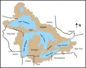 us map great lakes names great lakes river sea freshwater effects temperature