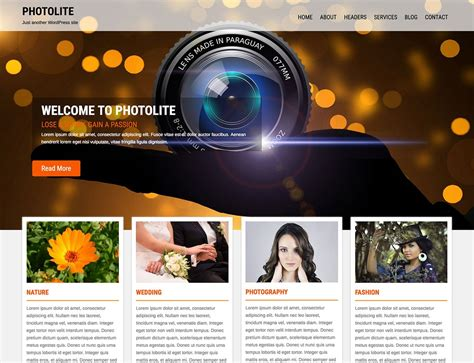 photo themes online 35 best free photography wordpress themes 2016 athemes