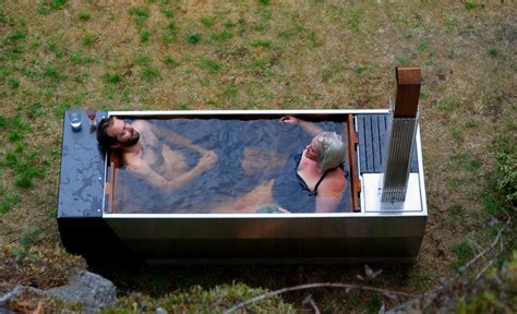 Outdoor Bathtub Wood Fired by Soak Wood Fired Tub Offers An Style Soaking Experience