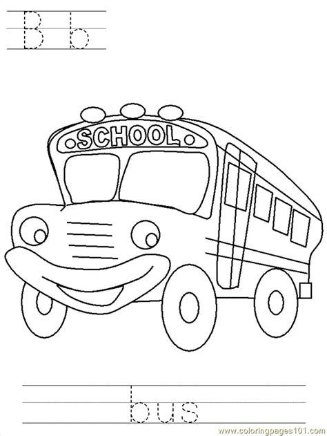 free printable coloring page btrace bus transport gt land