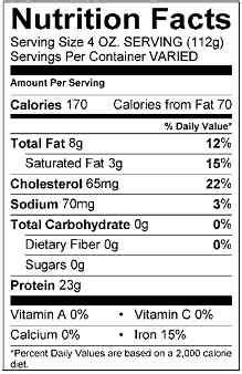 usda boat values food labels fact or fiction personal training san diego