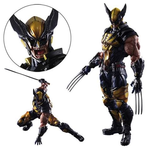 Fantasy Chess Set Marvel Universe Wolverine Variant Play Arts Kai Action Figure