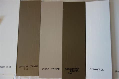 House Color Please Help Mid Range Versus Darker Taupes