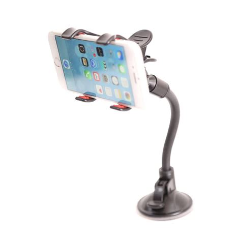 Suction Cup Car Holder Mobil Kamera Aksi mobile phone mount holder with suction cup multi angle 360 degree rotating clip windshield