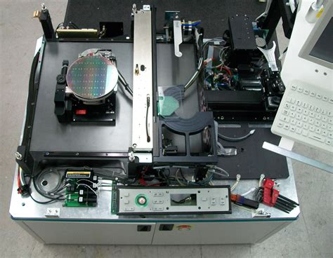 an integrated circuit factory has three machines wafer testing