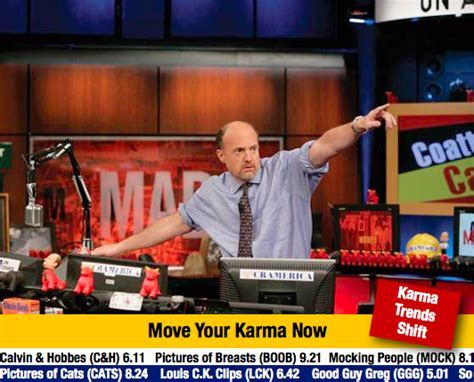 Stock Photo Girl Meme - mad karma with jim cramer know your meme