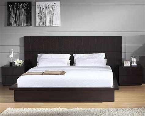 contemporary platform bed contemporary bedroom furniture store chicago