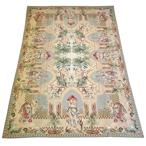 needlepoint rug large needlepoint rug by stark for sale at 1stdibs