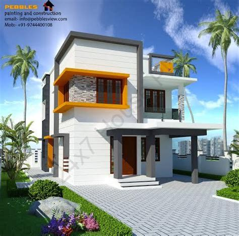 1800 Sq Feet Two Story House Design Free Plan Two Storey House Plans 2000 Square