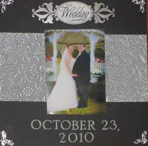 wedding scrapbook page layout wedding scrapbook cover page