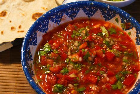fresh tomato salsa recipe dishmaps