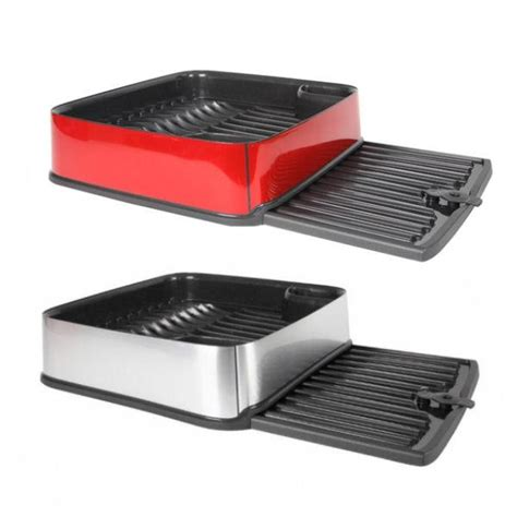 curver plastic dish drainer plate and cutlery rack