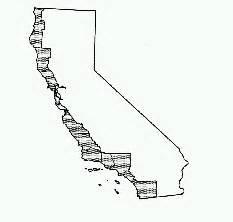 california coastal commission map permanent responsibilities of the california coastal