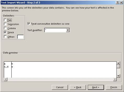csv format text qualifier excel comma in tab delimited csv file super user