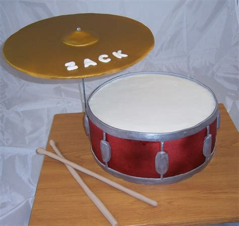 tutorial snare drum 12 quot snare drum cake with cymbal and drumsticks colton