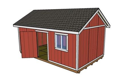 shed plans 12x20 10 free storage shed plans howtospecialist how to