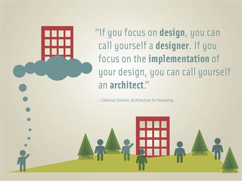 designers and architects an architect why be an architect why not be an architect