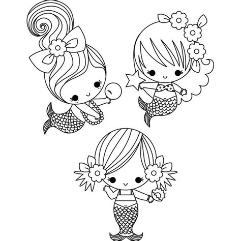 Coloring Page Baby Mermaid | little mermaids coloring page coloring images