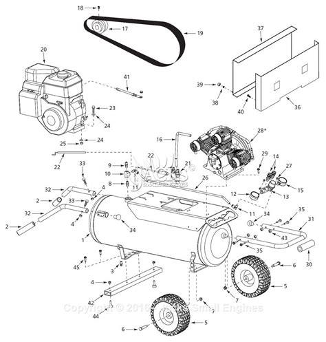 cbell hausfeld 1akb6 parts diagram for air compressor parts