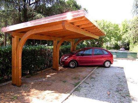 Auto Carports Portici Gazebo Carport E Garage In Legno Lamellare E