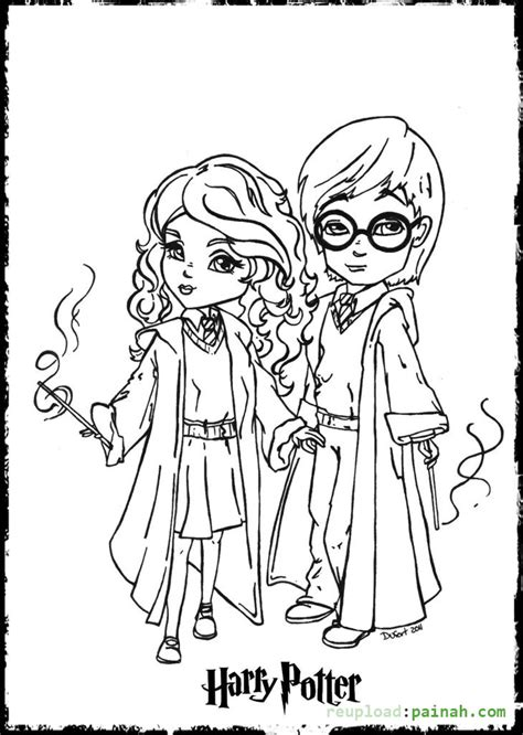 harry potter coloring pages ron harry potter adult coloring pages coloring home