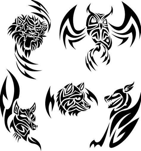 tribal animal tattoo ideas 13 animal tribal tattoo designs