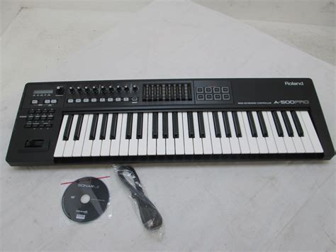 Keyboard Roland Midi A 500 Pro roland a 500 pro usb midi controller keyboard nearly new at gear4music