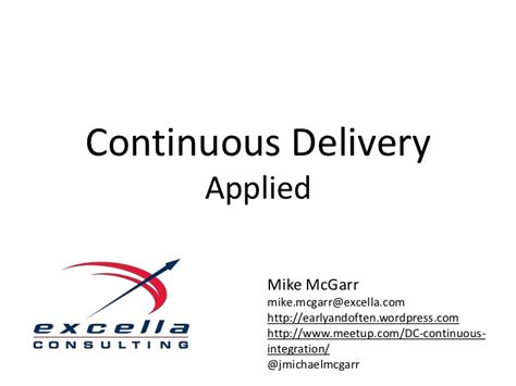 continuous delivery a brief overview of continuous delivery books continuous delivery applied