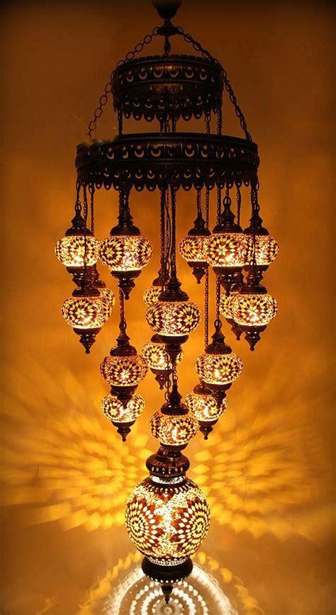 Turkish Mosaic Chandelier 19 110 230v Large Turkish Moroccan Hanging Glass Mosaic Chandelier L Lighting