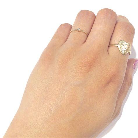 Safea Maxi シンプルダイヤモンドリング k10yg ハワイアンジュエリーmaxi マキシ 公式通販オンラインショップ