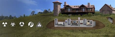 bomb shelter underground and survival shelters hardened