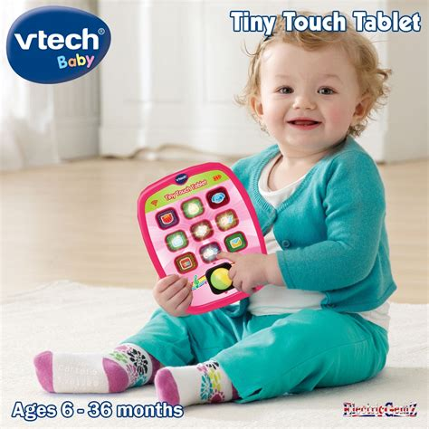 vtech light up baby touch tablet vtech baby tiny touch tablet pink