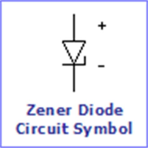 reason for zener diode symbol diodes electronics in meccano