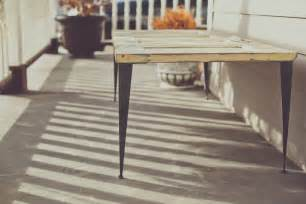 Patio Table Legs Diy Patio Furniture Ideas From Modern Legs